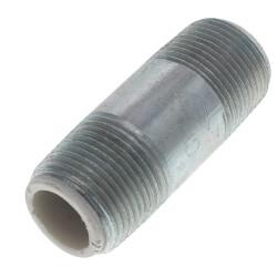 "3/4"" x 2-1/2"" Galvanized Steel Dielectric Nipple<br>w/ Pex Insulator Product Image"