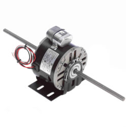 "5-5/8"" Double Shaft Fan/Blower Motor (115V, 1075 RPM, 1/4 HP) Product Image"