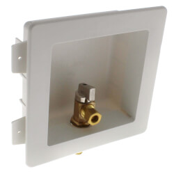 "1/2"" PEX Crimp Toilet/Dishwasher Outlet Box Product Image"