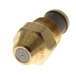 Type B Solid 45° Brass Oil Nozzle (3.00 GPH) Product Image
