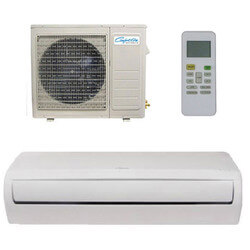 9,000 BTU DV-Series Single Zone Ductless Mini-Split Air Conditioner Package Product Image