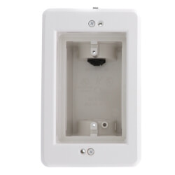 1-Gang Recessed Indoor InBox for New & Retrofit Construction (White) Product Image