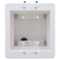 2-Gang Recessed Indoor InBox for New & Retrofit Construction (White) Product Image