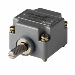 E50 NEMA Heavy-Duty Plug-In Limit Switch Operating Head, Side Rotary, Spring Return Product Image