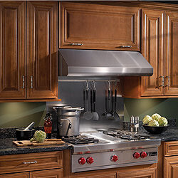 "42"" Stainless Steel Elite Series Under Cabinet Range Hood w/ External Blower Product Image"