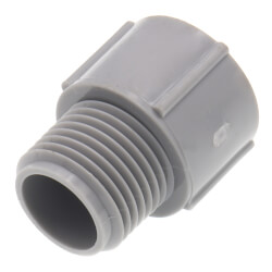 """1/2"""" PVC Schedule 40 Male Adapter Product Image"""