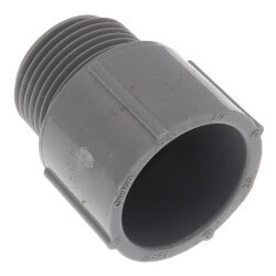 "3/4"" PVC Schedule 40 Male Adapter Product Image"
