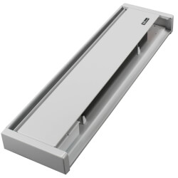"71"" SoftHeat Hydronic Baseboard, Dual Junction (240V - 1250W) Product Image"