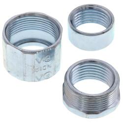 "3/4"" 3-Piece Rigid Steel Coupling Product Image"