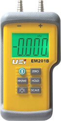 EM201B, Dual Input Differential Electronic Manometer Product Image