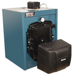 EMP84E-TB 64,000 BTU Output, Energy Star Rated Oil Fired 3-Pass Boiler Product Image