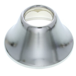 "1/2"" IPS Chrome-Plated Steel Bell Escutcheon<br>(2-3/8"" OD) Product Image"