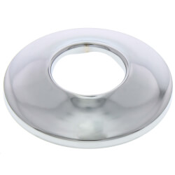 "3/4"" IPS Chrome Plated Steel Low Escutcheon<br>(2-1/2"" OD) Product Image"