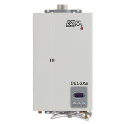 EZ Deluxe on Demand Tankless Water Heater, 1-2 Bath w/ Direct Vent Kit (NG) Product Image