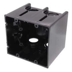 2-Gang One-Box Non-Metallic Outlet Box Product Image
