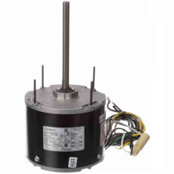 """5-5/8"""" 2-Speed Outdoor Ball Bearing Motor (208 230V, 1075 RPM, 1/4 HP) Product Image"""