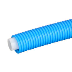 "3/4"" Blue Pre-sleeved Aquapex Tubing<br>(400 ft. coil) Product Image"