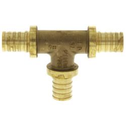 "1/2"" F2080 PEX Tee (Lead Free Brass) Product Image"