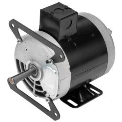 1/3-.09 HP 100-115v 2 Speed Convection and Pizza Oven Motor, 1 PH, 1725/1140 RPM, 56Y Frame, ODP Product Image