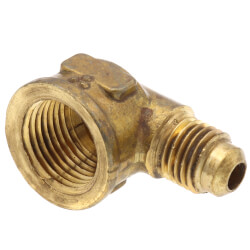 """(50-46) 1/4"""" Flare x 3/8"""" FIP Brass Elbow Product Image"""