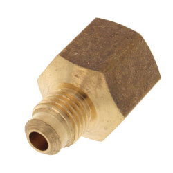 """(46-46) 1/4"""" Flare x 3/8"""" FIP Brass Coupling Product Image"""