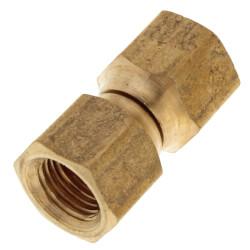 "(70-4) 1/4"" Brass Female Flare Swivel Product Image"