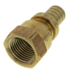 "1/2"" F2080 PEX Female Adapter (Lead Free Brass)  Product Image"