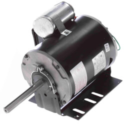 "6-1/2"" Outdoor Condenser Fan Motor (208-230/460V, 1075 RPM, 3/4 HP) Product Image"