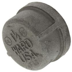 """1-1/2"""" Black Cap Product Image"""