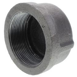 """2-1/2"""" Black Cap Product Image"""