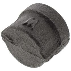 """3/8"""" Black Cap Product Image"""
