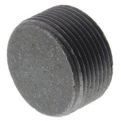 "3"" Black Countersunk Plug Product Image"