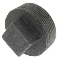 "2-1/2"" Black Regular<br>Cored Plug Product Image"