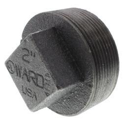 "2"" Black Regular<br>Cored Plug Product Image"