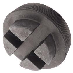 "5"" Black Regular<br>Cored Plug (Bar Head) Product Image"