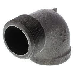 """1-1/2"""" Black 90°<br>Street Elbow Product Image"""