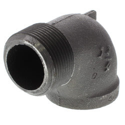 """1-1/4"""" Black 90°<br>Street Elbow Product Image"""
