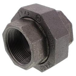 """1-1/2"""" Black Union Product Image"""