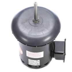 "5-5/8"" Deluxe Commercial Condenser Motor w/ 5/8"" Shaft (4.6/2.3A) Product Image"
