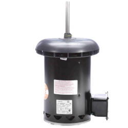 """5-5/8"""" Deluxe Commercial Condenser Motor w/ 1/2"""" Flat-A (4.6/2.3A) Product Image"""