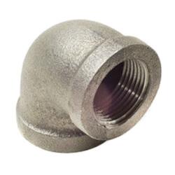 """2"""" Black Cast Iron Drainage Short Turn 90° Elbow Product Image"""