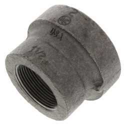 """1-1/4"""" x 1"""" Black Cast Iron Steam Reducer Product Image"""