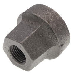"""1"""" x 1/2"""" Black Cast Iron Steam Reducer Product Image"""
