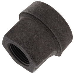 """1"""" x 3/4"""" Black Cast Iron Steam Reducer Product Image"""