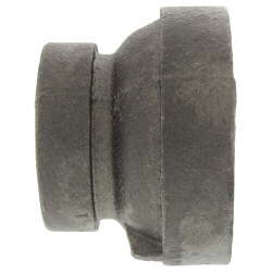 "1"" x 1/2"" Black Cast Iron Steam Reducer Product Image"