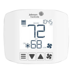 Non-programmable FCU and PTAC Thermostat w/ Johnson Control Logo Product Image