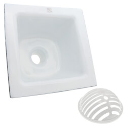 "12"" X 12"" A.R.C. Floor Sink, 6"" Sump Product Image"