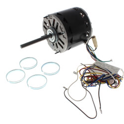 "5-5/8"" Direct Drive Fan/Blower Motor w/ 38"" Lead (115V, 1075 RPM) Product Image"