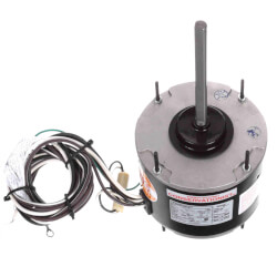 """5-5/8"""" 1-Spd Outdoor Ball Bearing PSC Motor (208 230V, 825 RPM, 1/8 HP) Product Image"""