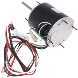 "5-5/8"" PSC Motor, 1/2 - 1/5 HP, 825 RPM, Reversible (208-230V) Product Image"